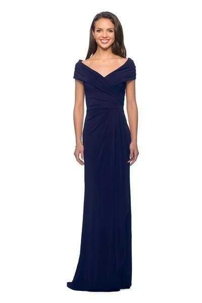 V-Neck Column Dress